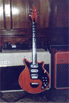 Mark Reynolds' guitar